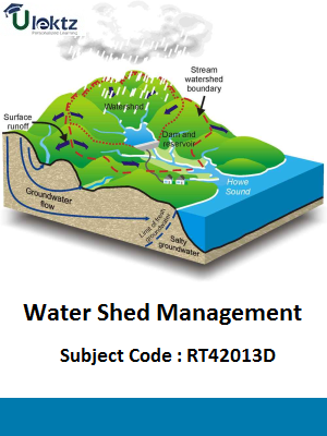 Important Question for Water Shed Management