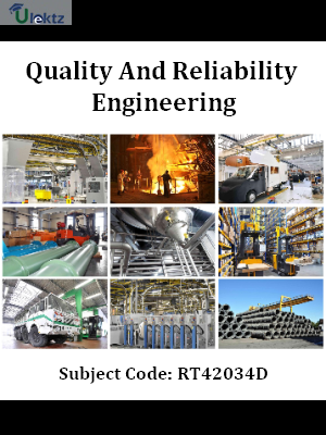 Important Question for Quality And Reliability Engineering