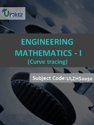 Engineering Mathematics-I (Curve tracing)