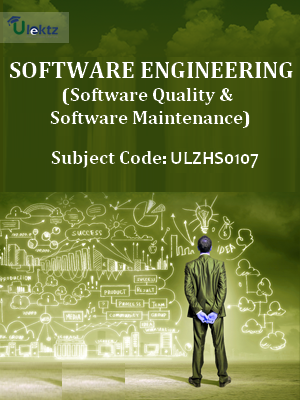 Software Engineering (Software Quality and Software Maintenance)