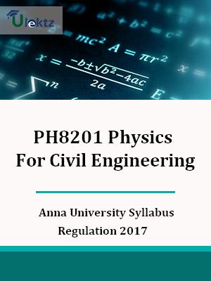 Physics For Civil Engineering Syllabus