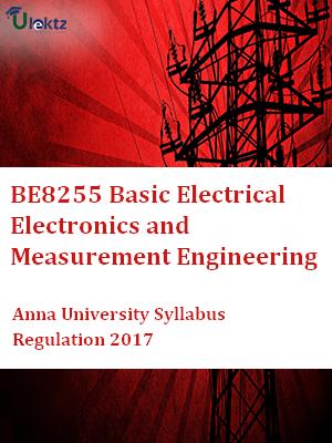 Basic Electrical Electronics and Measurement Engineering  Syllabus