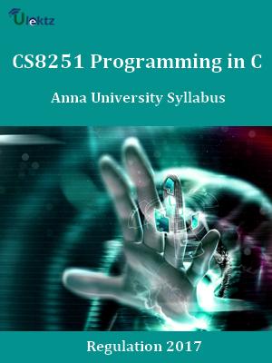Programming in C Syllabus