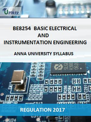 BASIC ELECTRICAL AND INSTRUMENTATION ENGINEERING Syllabus