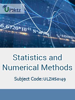 Statistics and Numerical Methods