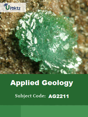Applied Geology Important Questions