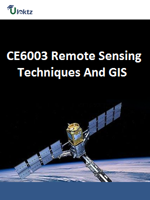 Important Question for Remote Sensing Techniques and GIS