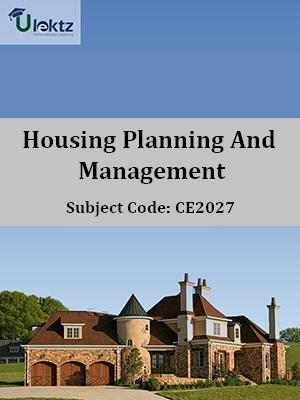 Important Question for Housing Planning And Management