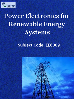 Important Question for Power Electronics for Renewable Energy Systems