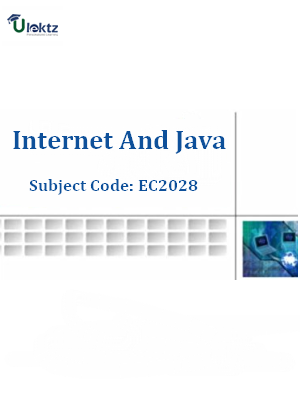 Important Question for Internet And Java