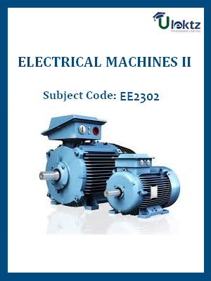 Important Question for Electrical Machines II