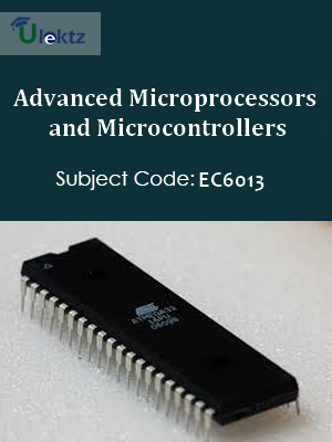 Important Question for Advanced Microprocessors and Microcontrollers