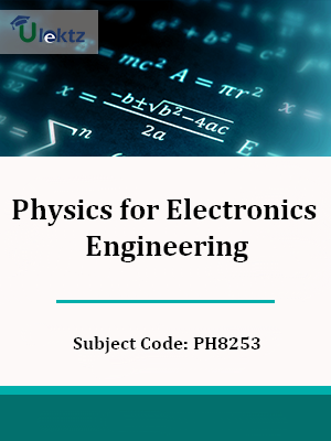 Important Question for Physics for Electronics Engineering