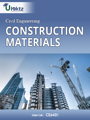 Important Questions for Construction Materials