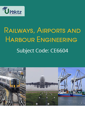 Important Questions for Railways,Airports And Harbour Engineering