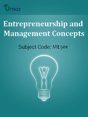 Entrepreneurship and Management Concepts