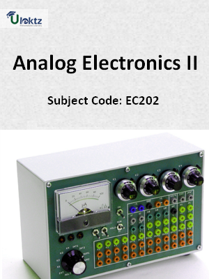 Important Questions for Analog Electronics II
