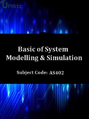 Basic of System Modelling & Simulation
