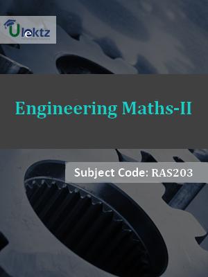 Engineering Maths-II