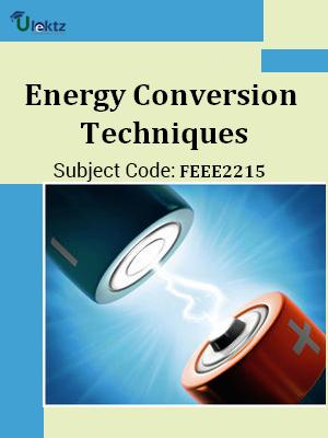 Energy Conversion Techniques