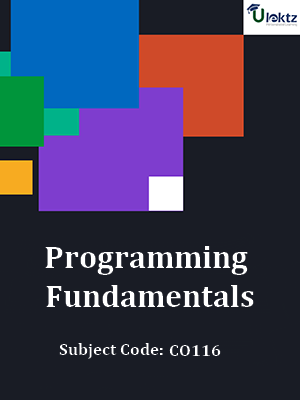 Important Questions for Programming Fundamentals
