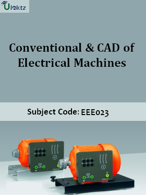 Conventional & CAD of Electrical Machines_QP