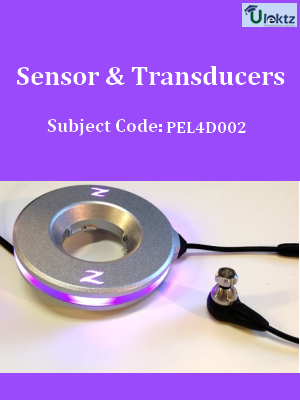 Important Questions for Sensor & Transducers