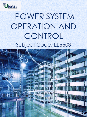 Important Questions for Power System Operation and Control
