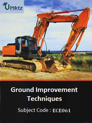 Important Questions for Ground Improvement Techniques