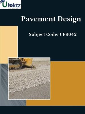 Important Questions for Pavement Design