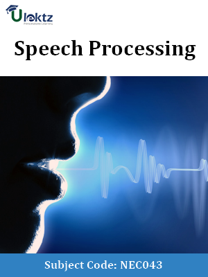 Important Questions for Speech Processing