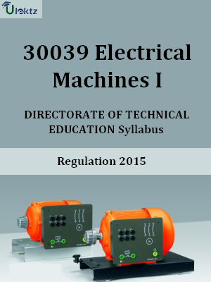 Electrical Machines I Syllabus