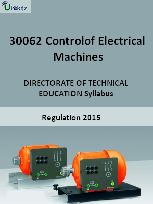 Control of Electrical Machines_Syllabus