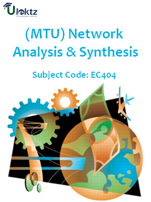 Important Questions for  Network Analysis & Synthesis