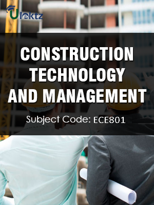 Important Questions for Construction Technology & Management