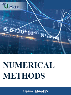 Important questions - Numerical Methods