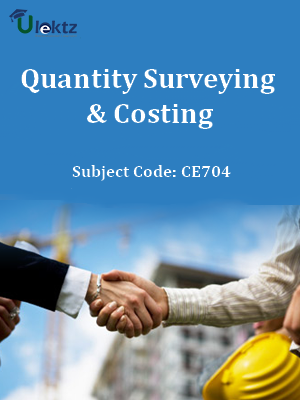 Important Question for Quantity Surveying & Costing