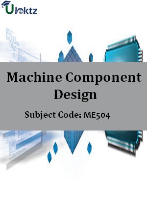 Important Question for Machine Component Design