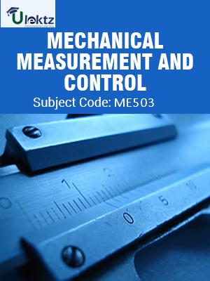 Important Question for Mechanical Measurement & Control