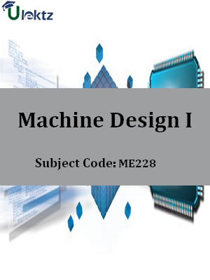 Important Questions for Machine Design I