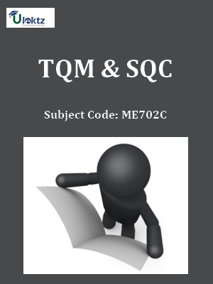 Important Question for Total Quality Management & SQC_QP