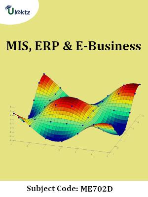 Important Question for MIS, ERP & E-Business