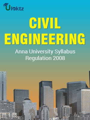Civil Engineering Syllabus R 2008