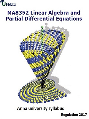 Linear Algebra and Partial Differential Equations - Syllabus