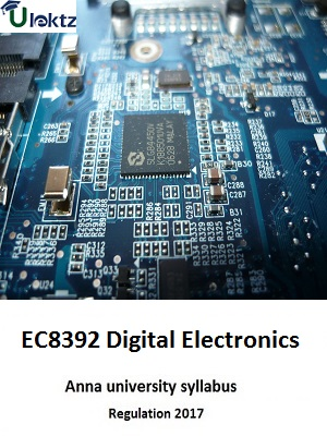 Digital Electronics - Syllabus