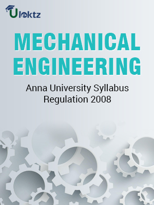 Mechanical Engineering Syllabus R 2008
