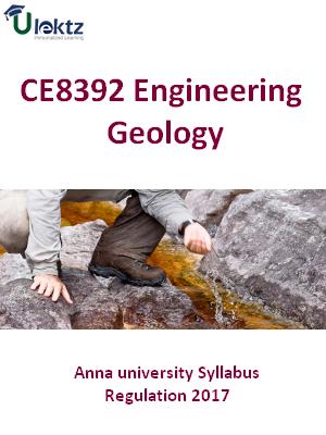 Engineering Geology_Syllabus