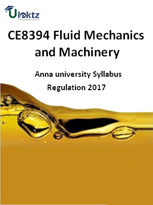 Fluid Mechanics and Machinery_Syllabus