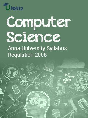 Computer Science Syllabus R 2008
