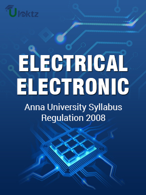Electrical and Electronics Engineering Syllabus